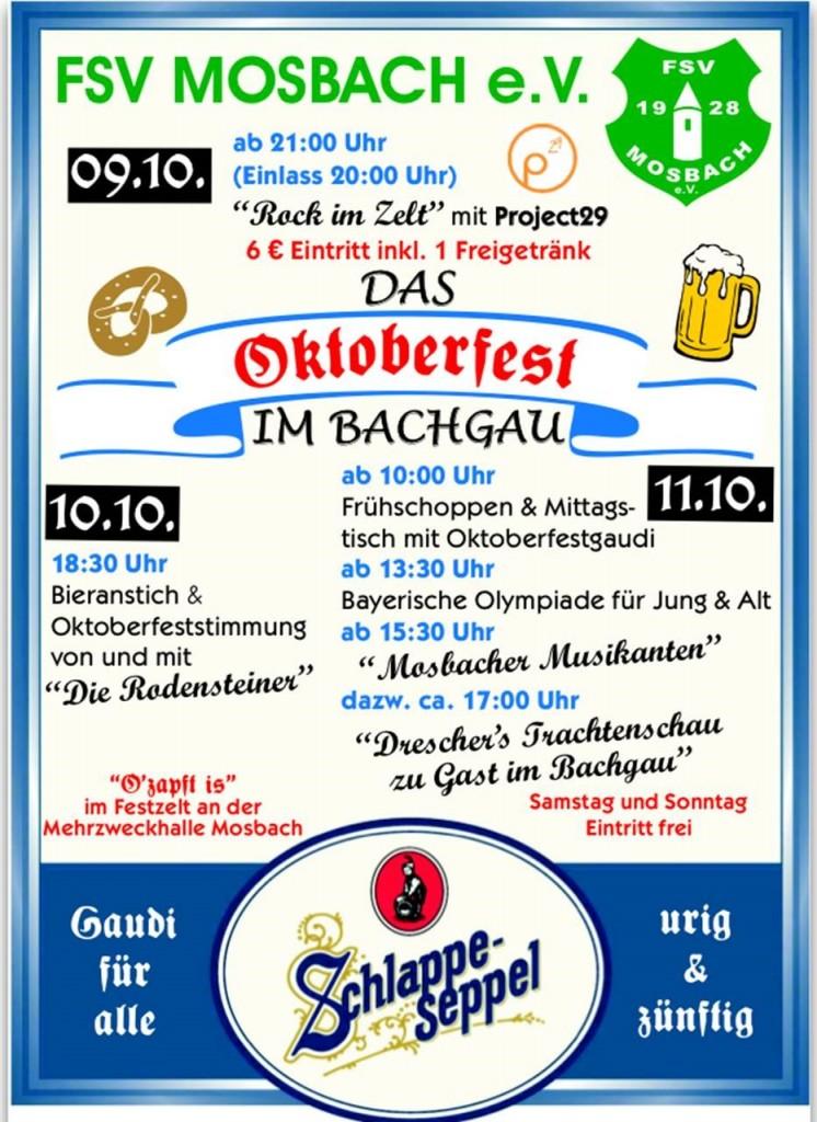 FSV Mosbach_Oktoberfest2015_Flyer