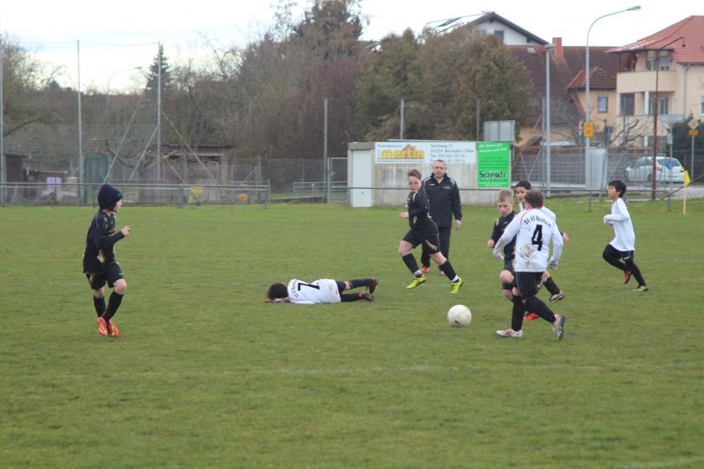 E Jun. SV Reinheim - FSV Mosbach 2:8 05.03.16