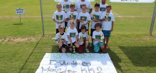 E1 Junioren Meister 2014/15